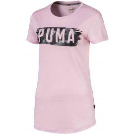Puma FUSION GRAPHIC TEE - Damen T-Shirt
