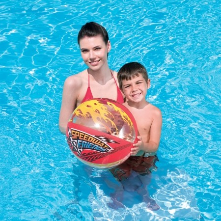 SPEEDYWAY FRIEND BEACH BALL - Wasserball - Bestway SPEEDYWAY FRIEND BEACH BALL