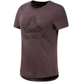 Reebok EL MARBLE LOGO TEE - Damen T-Shirt