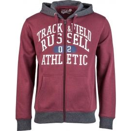 Russell Athletic ZIP THROUGH HOODY  WITH GRAPHIC PRINT - Herren Sweatshirt