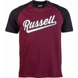 Russell Athletic RAGLAN CREW NECK TEE - Herren T-Shirt