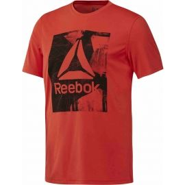 Reebok WORKOUT READY GRAPHIC SMU TOP - Herren Trainingsshirt